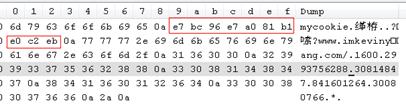 IE存储持久化Cookie的文件——二进制形式