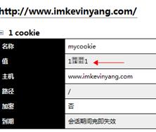Web Developer Bar看到的乱码的Cookie